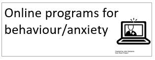 online programs for behaviour anxiety